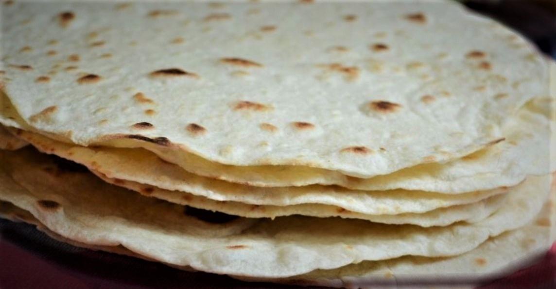 Tortillas de harina light