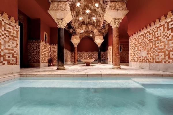 Resultado de imagen de baños arabes de Cordoba